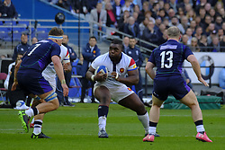 February 23, 2019 - Saint Denis, Seine Saint Denis, France - The Prop of French Team Prop DEMBA BAMBA in action during the Guinness Six Nations Rugby tournament between France and Scotland at the Stade de France - St Denis - France..France won 27-10 (Credit Image: © Pierre Stevenin/ZUMA Wire)