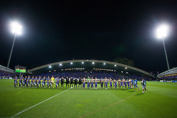 Players during Play-offs for Champions League between NK Maribor (Slovenia) and GNK Dinamo Zagreb (Croatia), on August 28, 2012, in Maribor, Slovenia. (Photo by Matic Klansek Velej / Sportida.com)