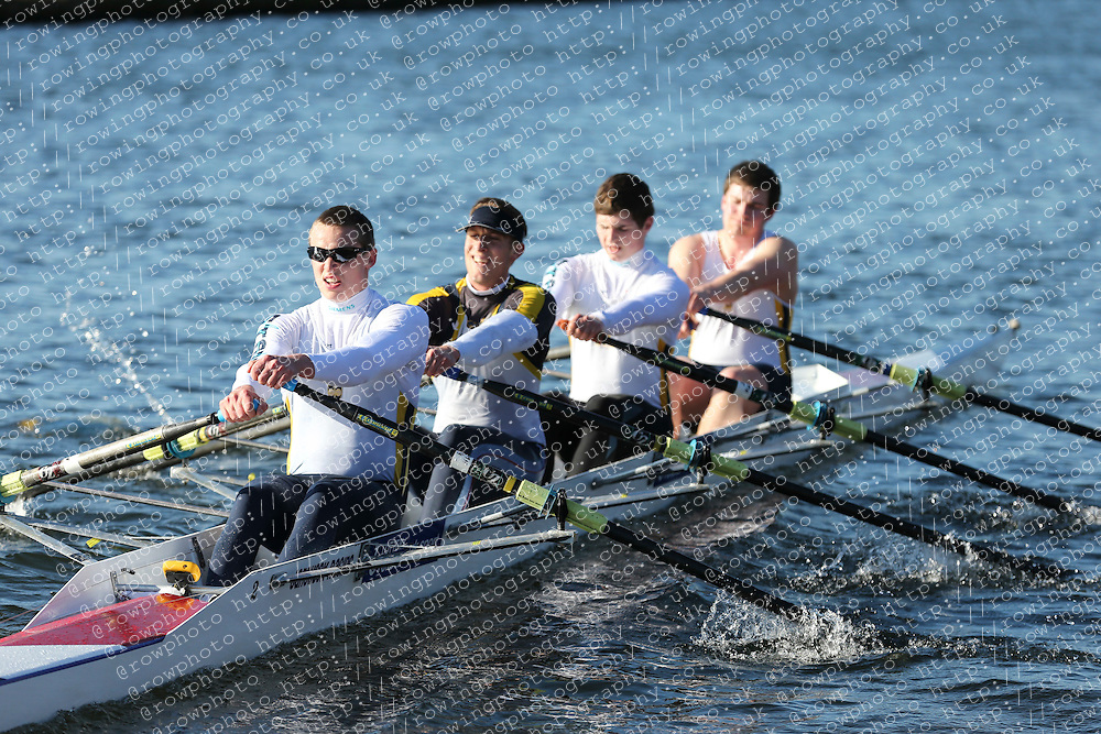 Bath University Boat Club. Championship Quad, BUCS Head 2012