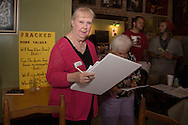 May 23,  Environmental scientist and MacArthur award winner, Wilma Subra at an educational meeting on fracking at St. Johns Coffee Shop in Covington, LA, part of St. Tammany Parish.