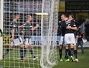 |KM\ and David Clarkson congratulate Greg Stewart after his goal - Dundee v Inverness Caledonian Thistle, SPFL Premiership at Dens Park <br /> <br />  - &copy; David Young - www.davidyoungphoto.co.uk - email: davidyoungphoto@gmail.com