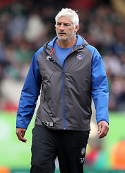 Bath Director of Rugby Todd Blackadder during the Aviva Premiership match at Welford Road, Leicester.