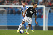 Brentford defender Nico Yennaris (8) during the EFL Sky Bet Championship match between Brighton and Hove Albion and Brentford at the American Express Community Stadium, Brighton and Hove, England on 10 September 2016.