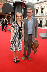 MARIELLA FROSTRUP and JASON McCUE at the Royal Academy of Art Summer Exhibition Preview Party on 4th June 2008.<br />