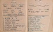 Munster Senior Football Championship - Semi-finals, .Cork v Tipperary,.06071947MSFCSF..06.07.1947, 07.06.1947, 6th July 1947, ..Cork, M O'Driscoll, Clonakilty, D Magner, Fermoy, P A Murphy, Beara, James Murphy, St NIcholas, P Cronin, Fermoy, T Crowley, Clonakilty, H O'Neill, Clonakilty, F O'Donovan, Clonakilty, C McGrath, St Finbarr's, D Culliane, Clonakilty, Cors Duggan, Beara, D O'Keeffe, Army, J Lynch, St Nicholas, J Cronin, Army, E Casey, Macroom, Subs, D O'Connor, Millstreet, C Power, Fermoy, D O'Donovan, St NIcholas, D Beckett, St Finbarr's, ..Tipperary, J Williams, P Larkin, P J Stapleton, Wm Gavin, Ml O'Brien, Ml Condon, Thos Cahill, L Lambe, Ml Cahill, S Cleary, Ml Casey, P Drennan, Wm Treacy, J J Maher, Lt S Minogue, Subs, P Ryan, J Hickey, E Scott, M Grimes, T Keane, S Ryan, ..Cork minor, .John O'Flynn, Avondhue Fermoy, Wm Galligan, Patrick Meehan St Finbarr and Rochestown, Patrick Brosnan, St NIcholas, Jas Galvin, St Colman's Macroom, Jas Manley, Millstreet, Donal Sullivan, Inchigeela, James McCarthy, Boherbue, John Thornhill, Avondhue Fermoy, Tim Normoyle, St NIcholas and Rochestown College, John Murphy, Timothy O'Mahony, Rochestown College, Barth Lynch, St Finbarr's, Joseph O'Kelly, St Nicholas and North Monastery, Liam O'Neill, Glanmire, Donal Ryan, North Monastery, Niall Fitzgerald, St Colman's Macroom, Jerh Daly, Avondhue Fermoy, ..Tipperary Minor, .Edward Dillon, Commercials, John McGrath, Castleiney Loughmore, Richard McGrath, Castleiney Loughmore, Patrick Gleeson, Drangan, Richard Tobin, Ballyneale, Donal Murphy, Commercials, Frank Garvey, Clenhan, Patrick Foley, Commercials, Patrick O'Mara, Drangan, Thomas Morrison, Commercials, John Kavangh, Commercials, Patrick Quinlan, Castleiney Loughmore, Jeremiah Tobin, Kilcash, Sean Boland, Commercials, Thomas McCarthy, Arravale Rovers, Jeremiah O'Brien, Arravale Rovers, Henry Tobin, Ballyneale, Frank Murnane, Commercials, Frank Murnane, Commercials, Charles Lawless, Drangan, Liam Ryan, Castleiny Loughmor