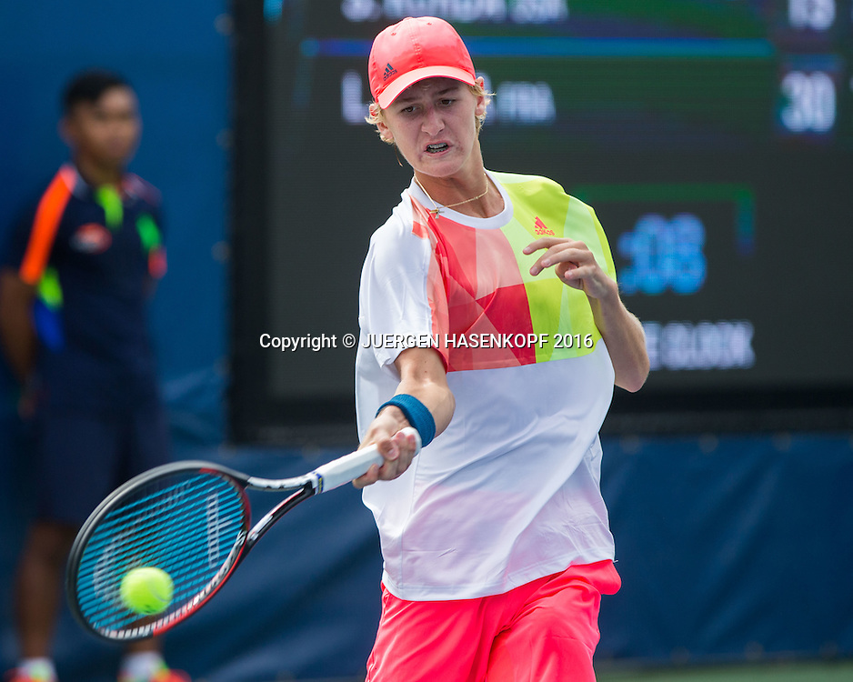 SEBASTIAN KORDA (USA), Junior BS<br /> <br /> Tennis - US Open 2016 - Grand Slam ITF / ATP / WTA -  USTA Billie Jean King National Tennis Center - New York - New York - USA  - 7 September 2016.