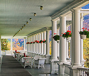Veranda of Mt Washington Hotel
