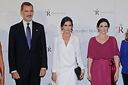 091819 Spanish Royals attend the opening of the Opera season 2019-2020