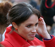 Meghan Markle Displays Grey Hairs