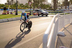 Karol-Ann Canuel (CAN) at the 28.9 km Elite Women's Individual Time Trial, UCI Road World Championships 2016 on 11th October 2016 in Doha, Qatar. (Photo by Sean Robinson/Velofocus).