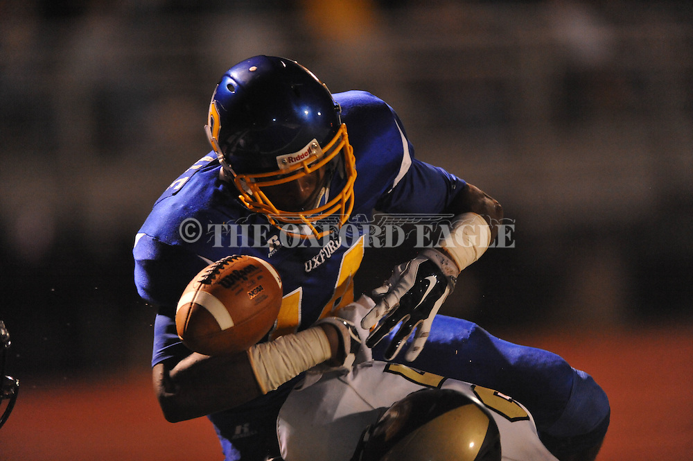 Oxford High's DeKaylin Metcalf (14) vs. New Hope in Oxford, Miss. on Friday, October 17, 2014. Oxford High won 42-21.