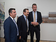 JOE BAUTISTA; JOEY IMOSSI; CHRISTIAN BJORLOW, Gibraltar as seen by five artists. private view hosted by the Chief Minister of Gibraltar. Art Bermondsey project Space. 24 October 2017
