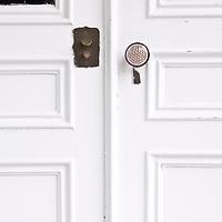 A door and handle