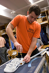 05 April 2008: North Carolina Tar Heels midfielder Bobby McAuley (43) before playing the Virginia Cavaliers in Chapel Hill, NC.