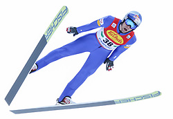 17.12.2016, Nordische Arena, Ramsau, AUT, FIS Weltcup Nordische Kombination, Skisprung, im Bild Philipp Orter (AUT) // Philipp Orter of Austria during Skijumping Competition of FIS Nordic Combined World Cup, at the Nordic Arena in Ramsau, Austria on 2016/12/17. EXPA Pictures © 2016, PhotoCredit: EXPA/ Martin Huber