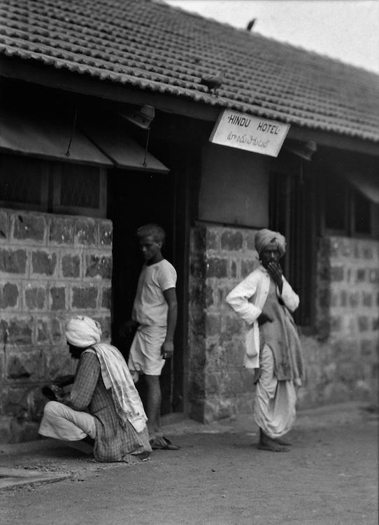 Hindu Hotel, Guntakal, India, 1929