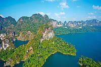 Thailande, province de Surat Thani, parc national de Khao Sok, lac de Cheow Lan // Thailand, Surat Thani province, Khao Sok national park, Cheow Lan lake