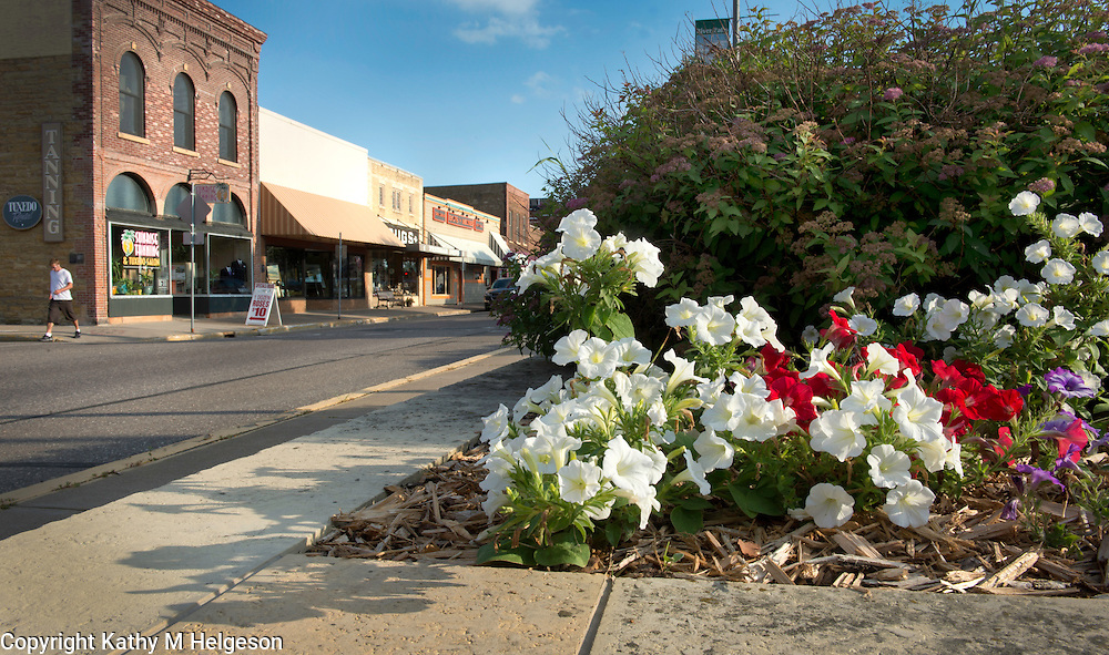 Downtown River Falls, Wisconsin July 2013<br /> photo by Kathy M Helgeson
