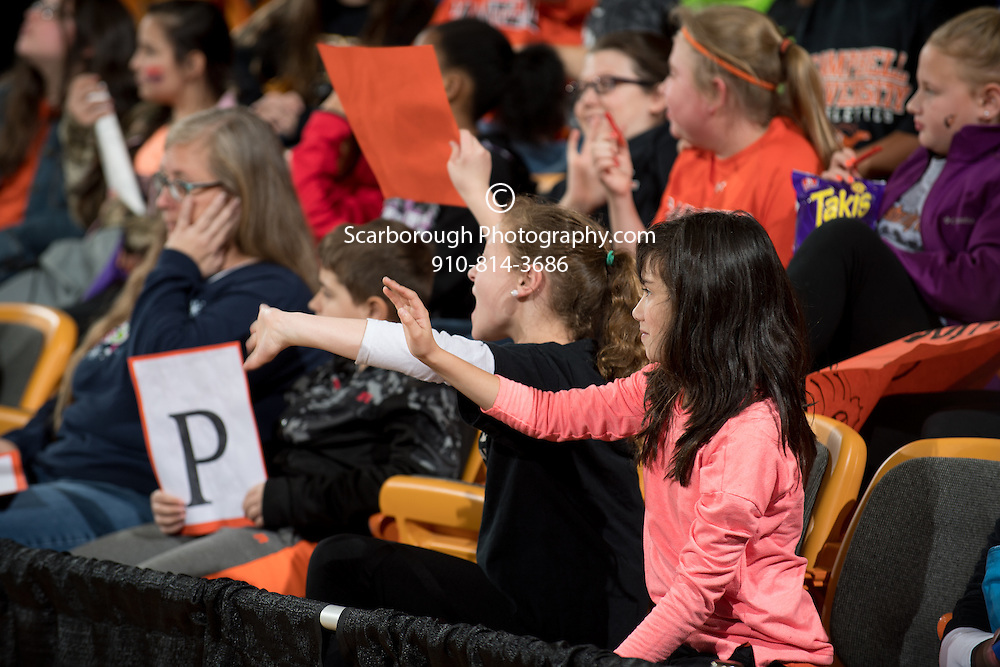 BUIES CREEK, NC - December 13th, 2016 - Campbell Camels and St. Augustine's at Gilbert Craig Gore Arena in Buies Creek, NC. Photo By Bennett Scarborough