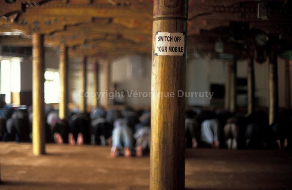 Islam en Inde : pendant la priere du vendredi