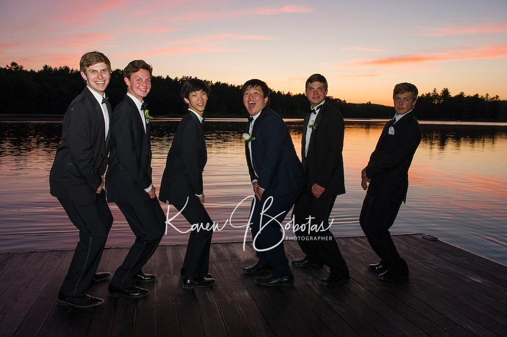 St Paul's School prom night.  ©2016 Karen Bobotas Photographer