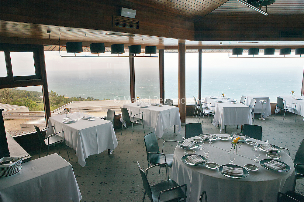 Akelarre Restaurant in San Sebastian.