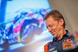 09.07.2019, Red Bull Ring, Spielberg, AUT, Marcel Hirscher mit MotoGP Bike am Red Bull Ring, Pressetermin, im Bild Team-Manager Mike Leitner (Red Bull KTM Factory Racing) // Team-Manager Mike Leitner (Red Bull KTM Factory Racing) during a press event Marcel Hirscher with MotoGP Bike on Red Bull Ring in Spielberg, Austria on 2019/07/09. EXPA Pictures © 2019, PhotoCredit: EXPA/ Dominik Angerer