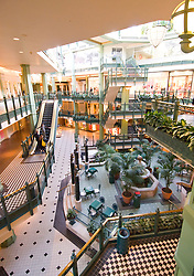Washington DC; USA: The Georgetown area, known for its shopping and historic brick homes.   Shopping venue known at the Shops at Georgetown Park..Photo copyright Lee Foster Photo # 20-washdc75586