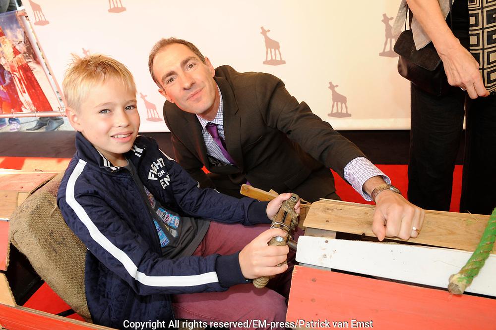NFF 2011 - Premiere Bennie Stout op het Nederlands Filmfestival van Utrecht. <br /> <br /> Op de foto: Johan Nijenhuis en Koen Dobbelaer