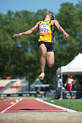 ISHAK Mohamad, MAS, Long Jump, T13, 2013 IPC Athletics World Championships, Lyon, France
