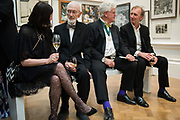 CLARE TAYLOR, JOE TILSON, STEPHEN COX, KEITH COVENTRY, 2019 Royal Academy Annual dinner, Piccadilly, London.  3 June 2019