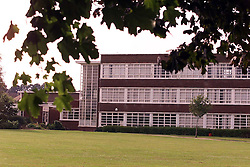 General View of Kemnal Technology College, Sidcup, Kent, July 30, 2000. Photo by Andrew Parsons/ i-Images.