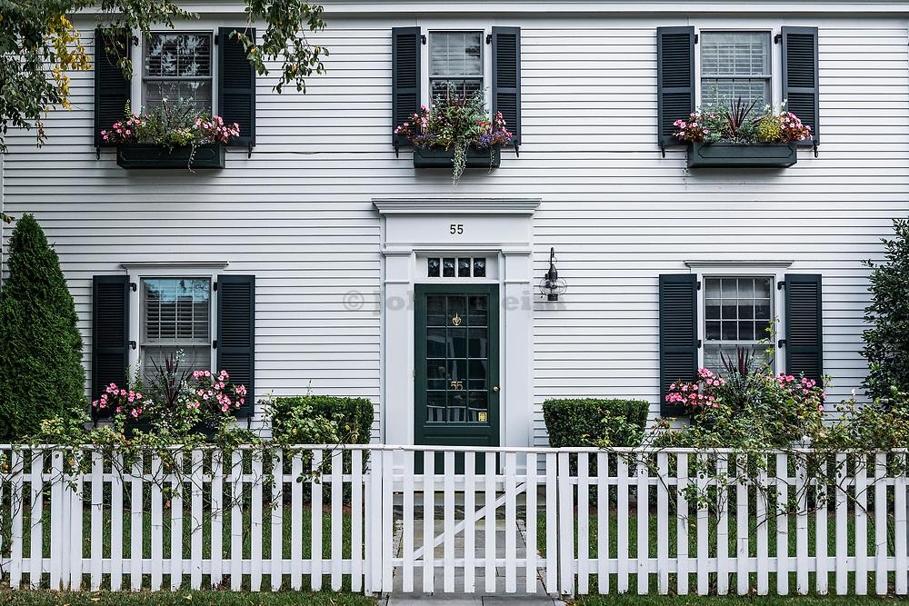 Home, Edgartown, Martha's Vineyard, Massachusetts, USA.
