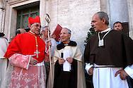 Rome July 1O 2005    .Festival in honor of the Madonna of the Carmelo .Church S.Maria in Traspontina, via della Conciliazione   .Cardinal Julian Herranz.