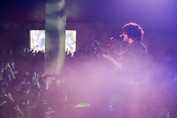 Kyle Falconer of The View, plays the Clash Arena tent..Saturday at Rockness 2012..©Michael Schofield..