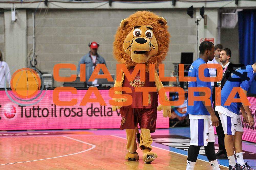 DESCRIZIONE : Final Eight Coppa Italia 2015 Desio Quarti di Finale Umana Reyer Venezia - Enel Brindisi<br /> GIOCATORE : LeoRey<br /> CATEGORIA : Mascotte<br /> SQUADRA : Umana Reyer Venezia<br /> EVENTO : Final Eight Coppa Italia 2015 Desio<br /> GARA : Umana Reyer Venezia - Enel Brindisi<br /> DATA : 20/02/2015<br /> SPORT : Pallacanestro <br /> AUTORE : Agenzia Ciamillo-Castoria/L.Canu
