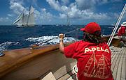 Onboard Adela.