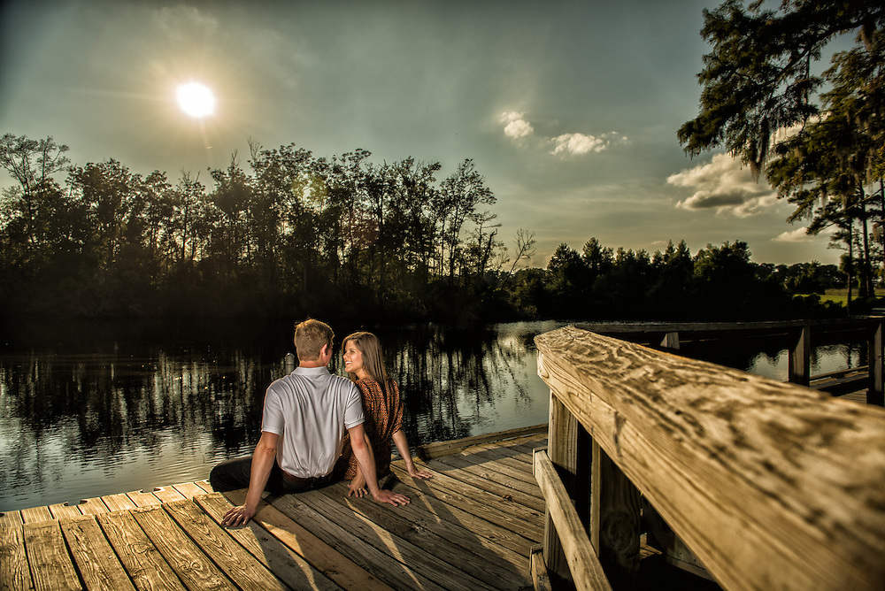 Trevor and Kaelyn Engagement | New Bern NC Photographers