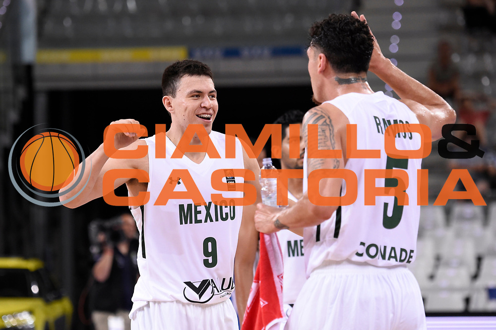 DESCRIZIONE: Torino FIBA Olympic Qualifying Tournament GREECE GRECIA MEXICO MESSICO<br /> GIOCATORE: Cruz Francisco<br /> CATEGORIA: Nazionale Italiana Italia Maschile Senior<br /> GARA: FIBA Olympic Qualifying GREECE GRECIA-MEXICO MESSICO<br /> DATA: 06/07/2016<br /> AUTORE: Agenzia Ciamillo-Castoria