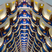 Burj Al Arab, Dubai. Consistently voted the world's most luxurious hotel.
