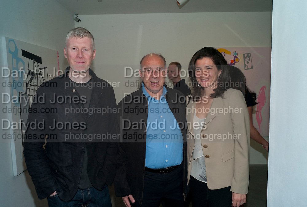 PAUL MORRISON; CAMILE ABOUSELMAN; MARIE CHRISTINE ABOUSELMAN, Haluk Akakce; Coming Home. Exhibition of work at the Alison Jacques Gallery. 29 April 2010. *** Local Caption *** -DO NOT ARCHIVE-© Copyright Photograph by Dafydd Jones. 248 Clapham Rd. London SW9 0PZ. Tel 0207 820 0771. www.dafjones.com.<br /> PAUL MORRISON; CAMILE ABOUSELMAN; MARIE CHRISTINE ABOUSELMAN, Haluk Akakce; Coming Home. Exhibition of work at the Alison Jacques Gallery. 29 April 2010.