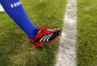 FUSSBALL   1. BUNDESLIGA   SAISON 2008/2009   10. SPIELTAG Hamburger SV - VfB Stuttgart          29.10.2008 Symbolbild Fussball, Auflaufen der Spieler