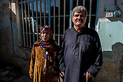 4 February 2019 &ndash; Mosul &ndash; Iraq &ndash; Entesar and Ismael are pictured inside their family home in the al-Islah al Zirahee neighbourhood of West Mosul. <br /> <br /> Work is currently underway to rehabilitate their home with the support of UNDP&rsquo;s Funding Facility for Stabilization (FFS), which is supporting the rehabilitation of ten thousand homes across West Mosul, helping displaced families return home. <br /> <br /> &copy; UNDP Iraq / Claire Thomas