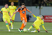 Benjamin JEANNOT / Jordan VERETOUT / Alejandro BEDOYA - 20.12.2014 - Lorient / Nantes - 17eme journee de Ligue 1 -<br />