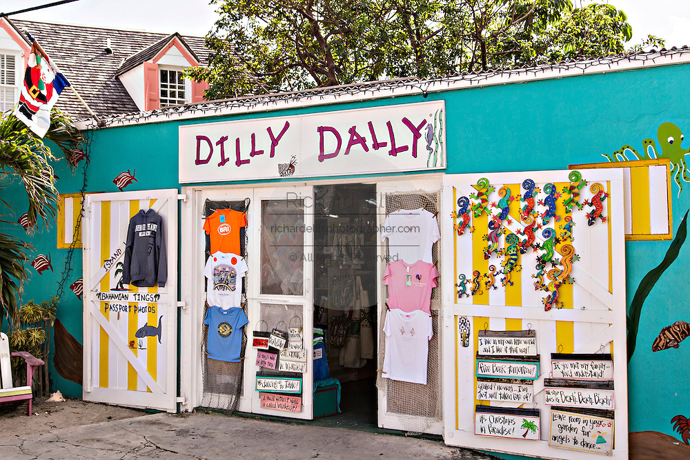 Dilly Dally store in Dunmore Town, Harbour Island, The Bahamas