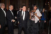 MARTIN ROTH; NICHOLAS COLERIDGE; ANDRE; BALAZS; NAOMI CAMPBELL, Alexander McQueen: Savage Beauty Gala, Victoria and Albert Museum, and A. 12th March 2015