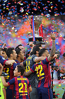 FC Barcelone<br /> Joie<br /> Champions<br /> Trophee