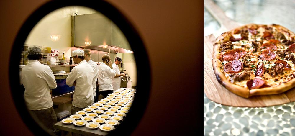 client: Monarch Restaurant, St. Louis, MO (left), Araka Restaurant, St. Louis, MO (right)