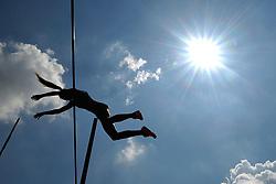 June 4, 2018 - Prague, Czech Republic - Aneta Moryskova of Czech Republic competes during the Women's Pole Vault round at the Josef Odlozil Memorial Athletic Classic Meeting EA Premium in Prague in the Czech Republic. (Credit Image: © Slavek Ruta via ZUMA Wire)