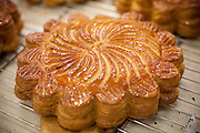 Freshly baked apple tarts
